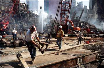 Constuction Workers at Ground Zero