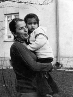 Natalia and her Grandmother Maria