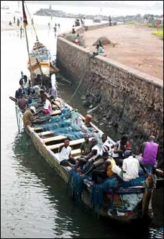Ghana Boatyard