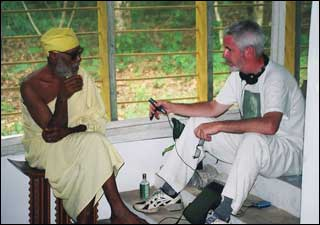 Lydon with Ghanaba