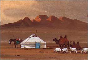 Mongolia Postcards