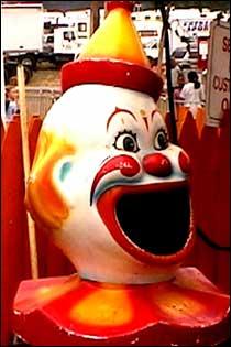 LOOK! A Clown....