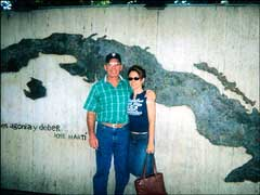 Jeanine and her Father