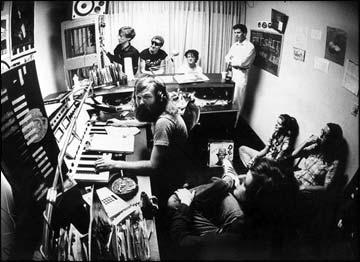 "Early KROQ --""Insane"" Darrell Wayne in studio with Devo"