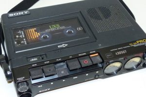 Sony TC-D5M Analog Audiocassette Recorder