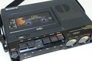 Sony TC-D5M Analog Audiocassette Recorder
