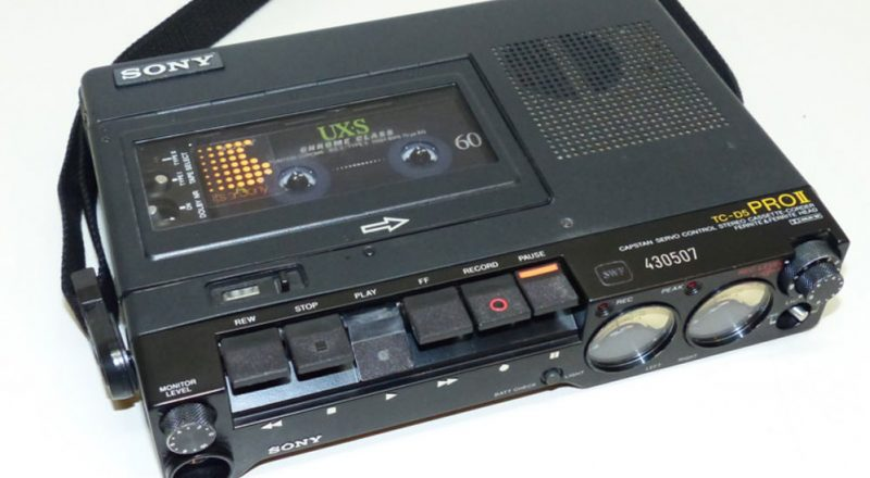 Sony TC-D5M Analog Audiocassette Recorder - Transom