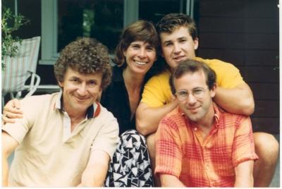 Doug, Lynn, Greg & Ted Nadeau, 1988