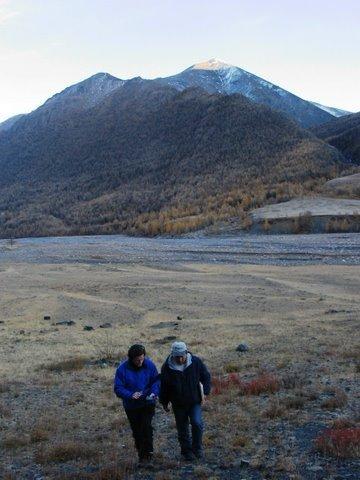 Elizabeth Arnold in Mongolia