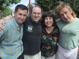 Greg, Ted, Lynn and Donna, 2003