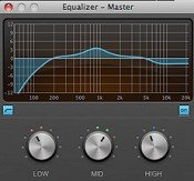 Hindenburg EQ screenshot