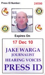 Press ID Badge photo