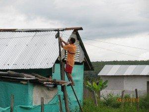 Man hijacking electricity