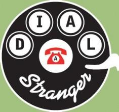 Dial A Stranger- telephone logo