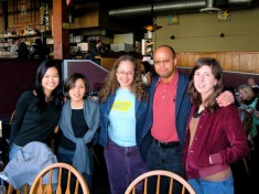 Next Gen mentors and former students in Seattle