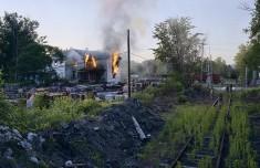 Crewd House Fire,