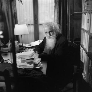 photo of Gaston Bachelard, Radio Reverist