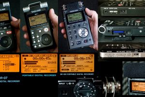 Tascam DR-Series Flash Recorders