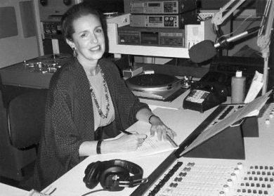 Lois Baum, WFMT, ca 1990