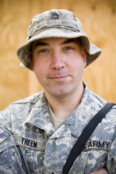 Staff Sergeant Adam Treen