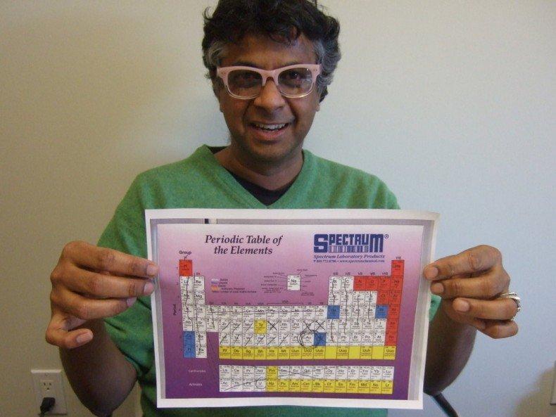 Sanat Kumar, professor of chemical engineering at Columbia University (photo: David Kestenbaum/NPR)