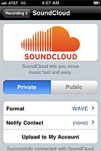 SoundCloud Mobile Upload