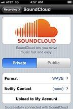 SoundCloud Mobile Upload