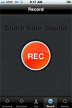 SoundCloud Mobile Record
