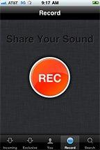 SoundCloud Mobile Record
