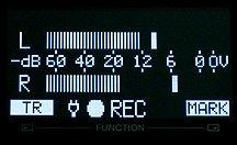 Field recorder input meter
