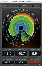 Hindenburg Loudness Meter image