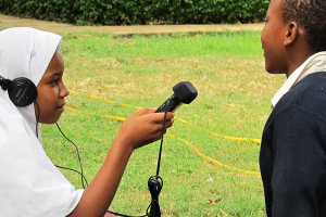 The Children's Radio Foundation in South Africa