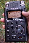 Tascam DR100mkII recorder