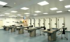 Hospital mortuary photo
