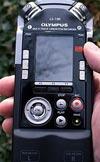 Olympus LS-100 recorder