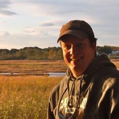 Rob in marsh photo