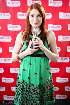 Felicia Day photo by Lan Bui