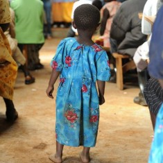 photo of African child