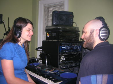 Maura And Sterling Recording