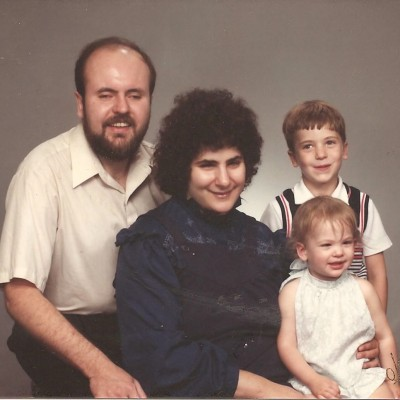 Smalley Family Portrait 1984