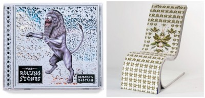 Sagmeister-Darwin Chair and Rolling Stones