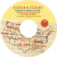 Hidden Kitchens CD label