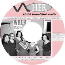WHER All-Girl Radio- CD label