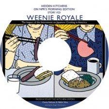 Winnie Royale- CD label