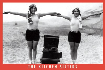 Kitchen Sisters postcard