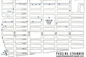 Passing Stranger: The East Village Poetry Walk