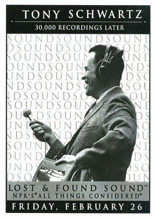 Tony Schwartz poster