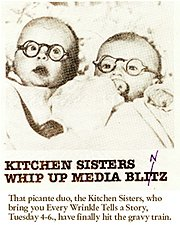 Kitchen Sisters baby image