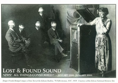 Lost and Found Sound Postcard