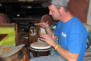 The Beat Of His Own Drum
